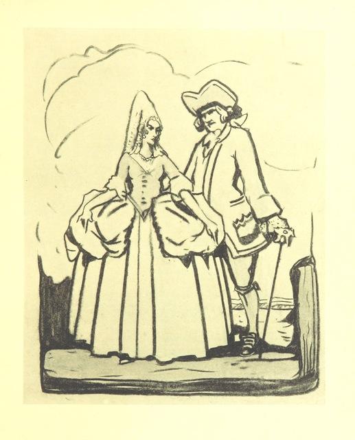 """portrait from """"[The Fashionable Lover.] Miss Obre oder die gerettete Unschuld. Ein Lustspiel in fünf Aufzügen nach dem Englischen des Herrn Cumberland. [The translator's preface signed: C. C. H. R., i.e. C. C. H. Rost.]"""""""