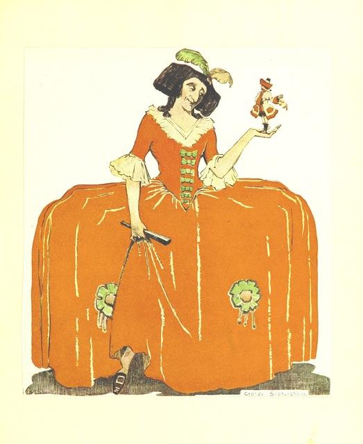 """womenswear from """"[The Fashionable Lover.] Miss Obre oder die gerettete Unschuld. Ein Lustspiel in fünf Aufzügen nach dem Englischen des Herrn Cumberland. [The translator's preface signed: C. C. H. R., i.e. C. C. H. Rost.]"""""""