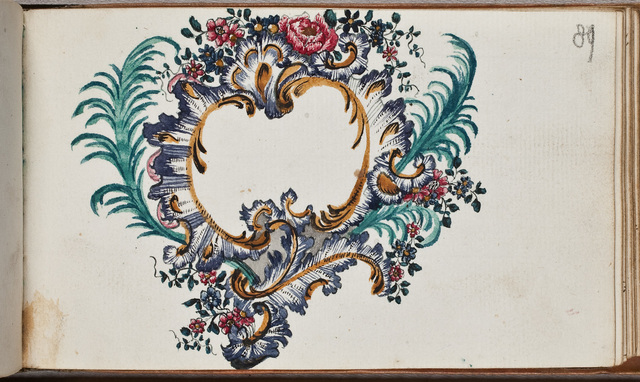 Cartouche /door N.N. in het album amicorum van Bartholomaeus Rüssing, student theologie