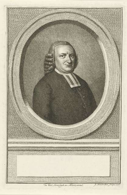 Portret van Georgius Lemke