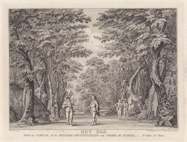 De dood van Johan en Garcias: Vier mannen in het bos