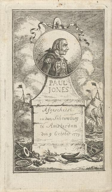 Portret van Paul Jones