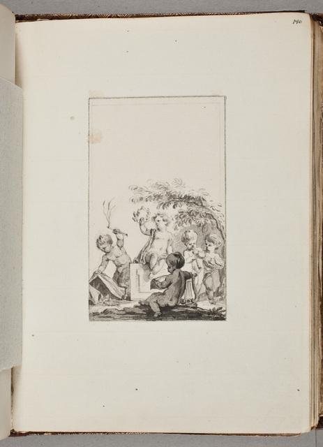 """Titelvignet voor """"Gedichtenbundel"""" / door [Reinier Vinkeles (1741-1816)]"""