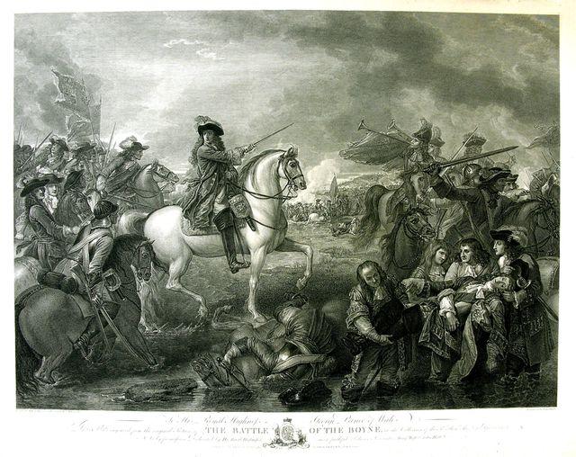 The Battle of the Boyne; (Lupta de la Boyne)