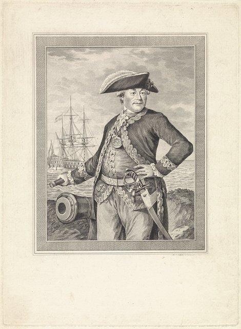 Portret van Willem van Braam
