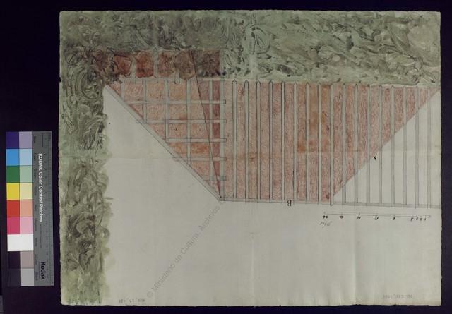 [Murallón de mampostería con su estacada para las salinas de Minglanilla] [Material gráfico no proyectable]
