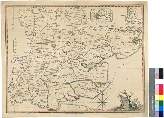 A map of the County of Essex : from an Actual Survey [Mapa]