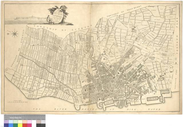 A Plan of the Town & Township of Liverpool : From an Actual Survey, taken in the Year 1785