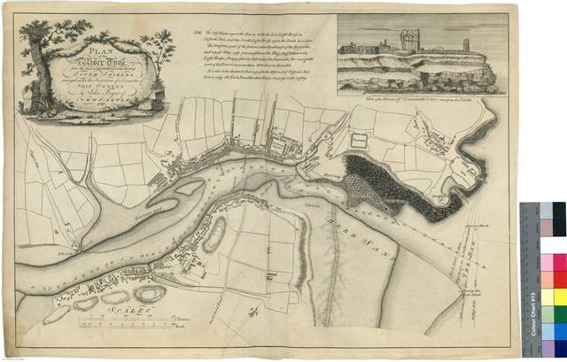 Plan of the River Tyne, from the Ber or Mouth Thereof to the Mead of South Fields [Mapa]