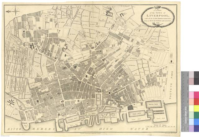A Plan of the Town of Liverpool, with all the Late Improvements : From an Actual Survey made in the Year 1790