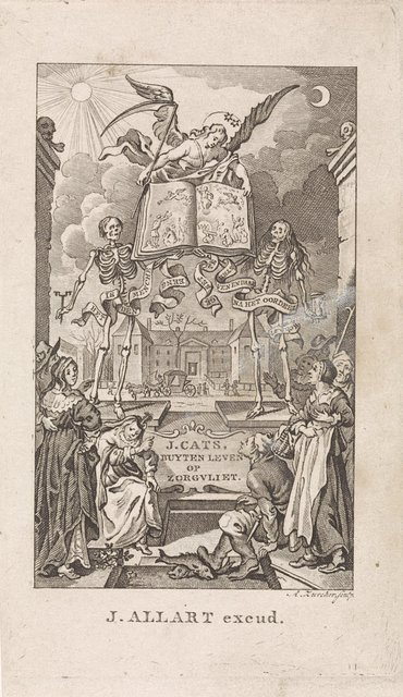 Engel van de dood presenteert een boek op Zorgvliet