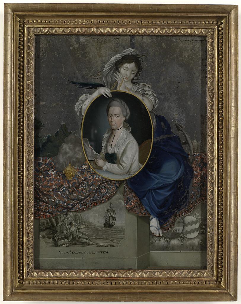 Portrait of Catharina van Braam Houckgeest