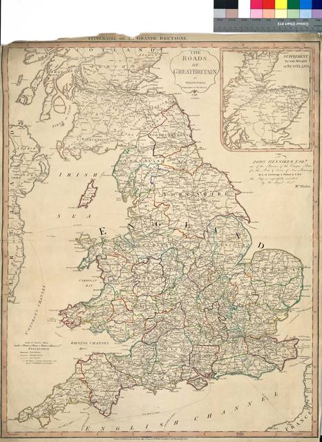 The roads of Great Britain [Mapa]