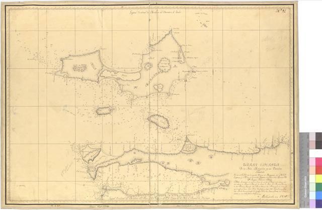 Carta esférica de la Isla Margarita y sus Canales [Mapa]