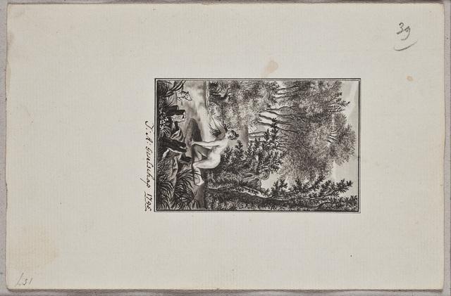 Tekening / door J.A. Geselschap, voor Carolus Christianus Zanders (ca. 1763-), student letteren