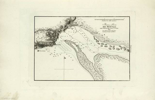 Barra y Puerto de Setubal : [carta náutica]