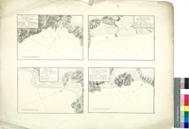 Plano de la Ensenada de Belilla ; Plano de la Playa de Salobreña ; Plano de Cala Honda ; Plano del Fondeadero de Castel de Ferro : Granada