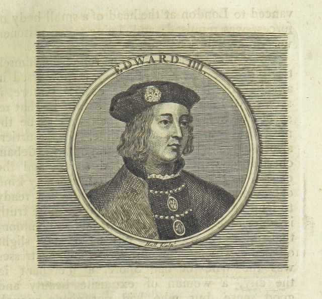 """Portrait from """"[The history of England, from the earliest times to the death of George II.]"""""""