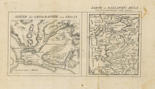 """map from """"[Dallaway's Reise nach Constantinopel und die umliegende Gegend. Mit Charte und Kupfer.]"""""""