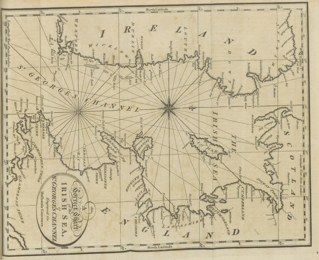 "map from ""[The naval gazetteer; or, Seaman's complete guide ... First American edition.]"""