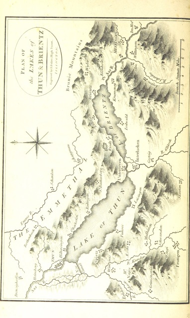 "map from ""[Travels in Switzerland, and in the Country of the Grisons ... The third edition.]"""