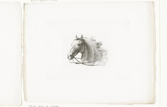 Paardenhoofd naar links