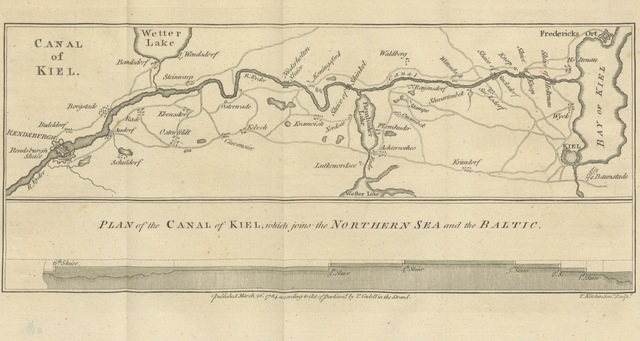 "canal from ""[Travels into Poland, Russia, Sweden, and Denmark. Interspersed with historical relations and political inquiries. Illustrated with charts and engravings.]"""