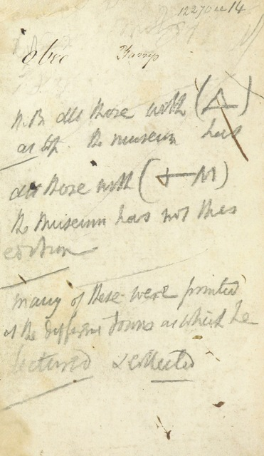 "manuscript from ""Selections, &c., for Mr. Thelwall's Lectures on the science and practice of Elocution"""
