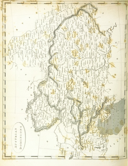 """map from """"Modern Geography, a description of the Empires, states, and colonies, with the oceans, seas and islands in all parts of the World ... The Astronomical Introduction by the Rev. S. Vince. With numerous maps"""""""