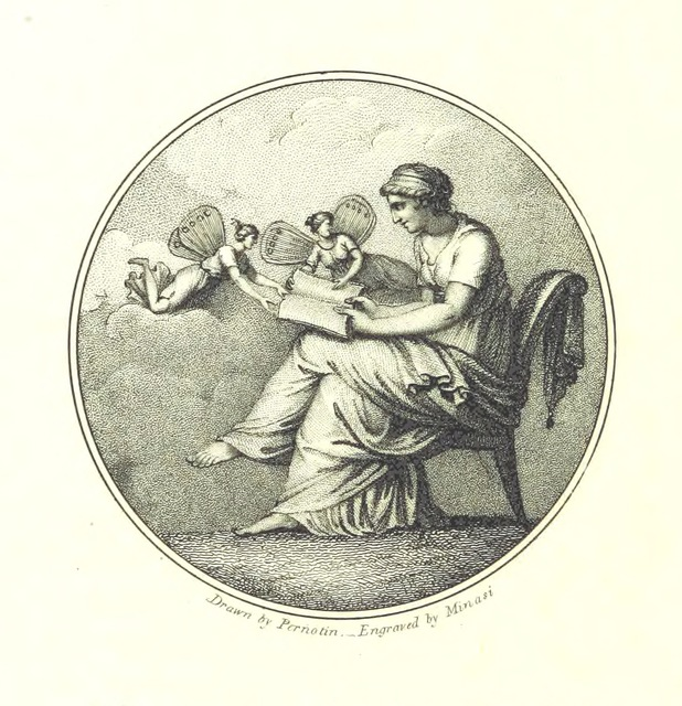 "portrait from ""Science Revived, or the Vision of Alfred. A poem in eight books"""