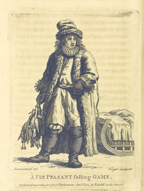 "portrait from ""[Travels into Poland, Russia, Sweden, and Denmark. Interspersed with historical relations and political inquiries. Illustrated with charts and engravings.]"""