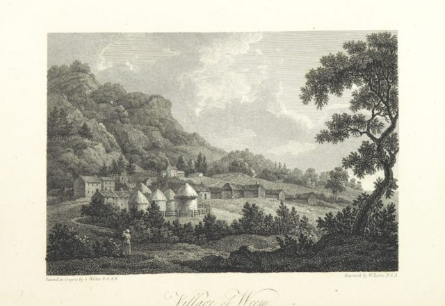 """Perthshire from """"Scottish Scenery: or, Sketches in verse, descriptive of scenes chiefly in the Highlands of Scotland: accompanied with notes and illustrations; and ornamented with engravings by W. Byrne ... from views painted by G. Walker, etc"""""""