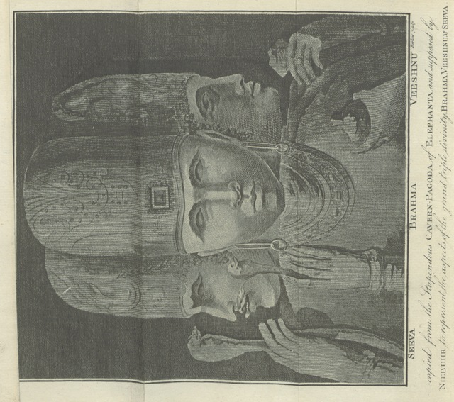 """Hinduism from """"[Indian Antiquities: or, Dissertations relative to the ancient geographical divisions, the ... primeval theology, the grand code of civil laws, the original form of government, and the ... literature of Hindostan, compared ... with the religion, laws, government and literature of Persia, Egypt and Greece. The whole intended as introductory to ... the History of Hindostan.]"""""""