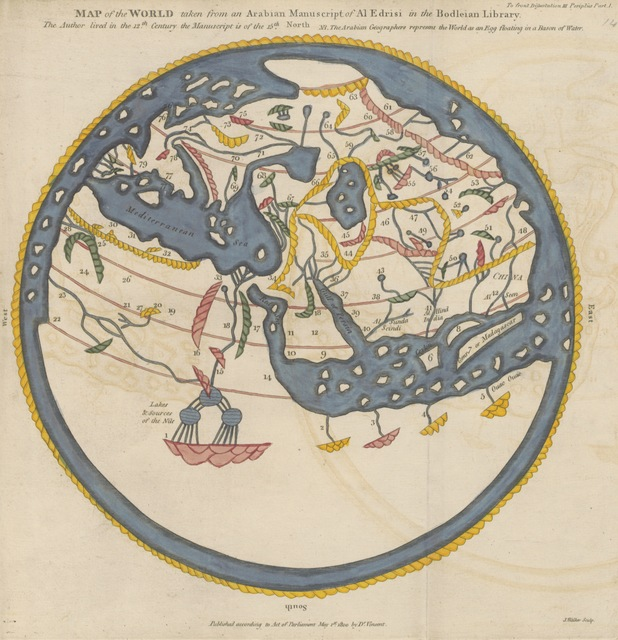 """world from """"The Commerce and Navigation of the Ancients in the Indian Ocean"""""""