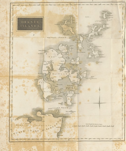 """map from """"[The history of the Orkney Islands.]"""""""