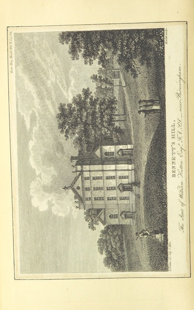 """Bennett's Hill from """"[An history of Birmingham ... With a new introduction by Christopher R. Erington.]"""""""
