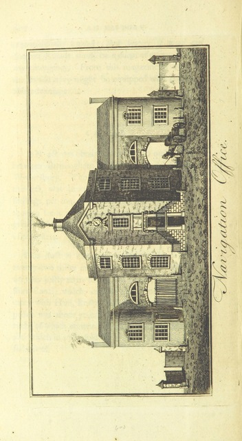 """Navigation office from """"[An history of Birmingham ... With a new introduction by Christopher R. Erington.]"""""""