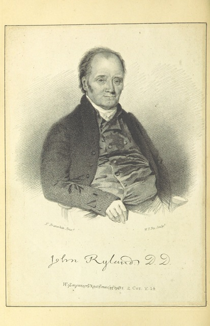 """portrait from """"[An history of Birmingham ... With a new introduction by Christopher R. Erington.]"""""""