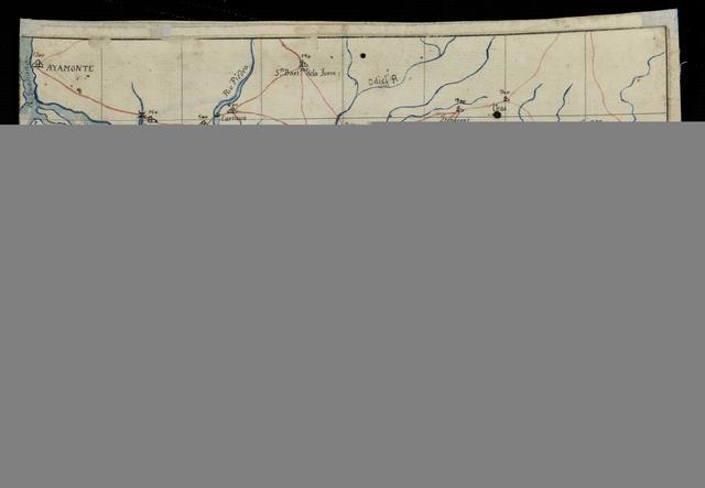 Plano geográfico de Moguer y sus inmediaciones referente a los movimientos de la división del Genl. Laci en Agto. de 1810 quando batió a las Tropas del duqe. Aramberg(...)