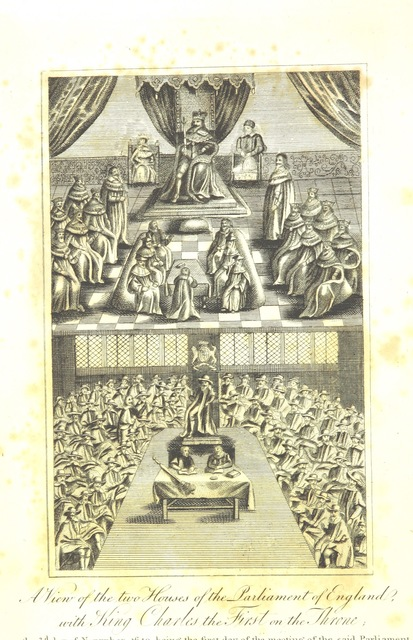 """Charles I of England from """"[The History of the Parliament of England, which began Nov. the third, 1640. With a short ... view of some precedent years.]"""""""
