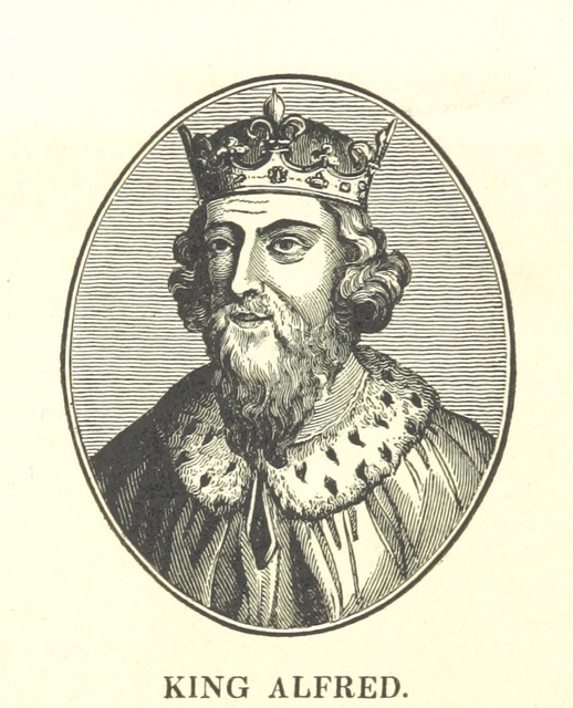 "Alfred the Great from ""The History of the Kingdom of Scotland ... to the happy Union of both kingdoms ... in 1602 ... By Richard Burton (N. Crouch). A new edition, with woodcut portraits [of the first part of ""The History of the Kingdoms of Scotland and Ireland.""] [Edited by James Caulfield.] L.P"""