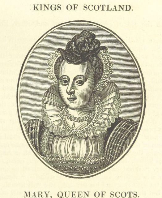 "Mary Queen of Scots from ""The History of the Kingdom of Scotland ... to the happy Union of both kingdoms ... in 1602 ... By Richard Burton (N. Crouch). A new edition, with woodcut portraits [of the first part of ""The History of the Kingdoms of Scotland and Ireland.""] [Edited by James Caulfield.] L.P"""