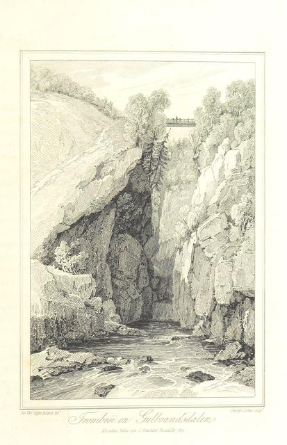 """Nature from """"Voyage dans le Nord de l'Europe; consistant principalement de promenades en Norwège, et de quelques courses en Suède dans l'année MDCCCVII. ... Suivie d'un appendice ... Avec des planches, etc"""""""