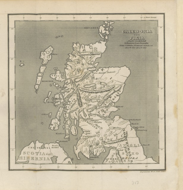 "maps from ""[An Enquiry into the History of Scotland preceding the Reign of Malcolm III., or the year 1056. (A dissertation on the origin and progress of the Scythians.) ... In two volumes.]"""