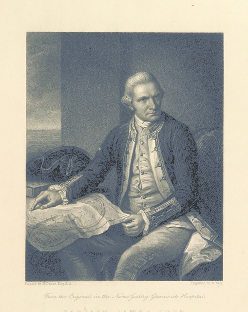 "engraving from ""Captain Cook's Original Voyages round the World ... [The abridgment of G. W. Anderson.] Embellished with engravings, etc"""