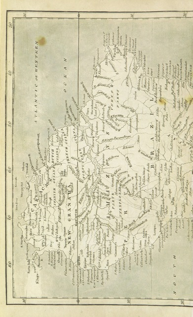 "map from ""Gleanings and Remarks: collected during many months of residence at Buenos-Ayres, and within the Upper Country; with a prefatory account of the expedition from England, until the surrender of the ... Cape of Good Hope. With a map, etc"""