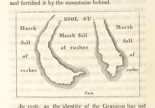 """map from """"Journal of a Tour in the Levant"""""""