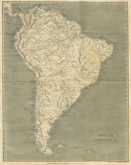 """map from """"[The Works of William Robertson ... To which is prefixed, an account of his life and writings by Dugald Stewart. ... A new edition.]"""""""