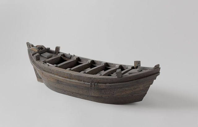 Model reconstruction of a single-masted ship excavated at Capelle