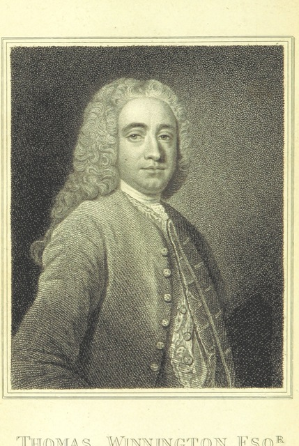 "portrait from ""The works of ... Sir C. H. W. ... from the originals in the possession of his Grandson, the ... Earl of Essex. ... With notes by H. Walpole, Earl of Orford"""